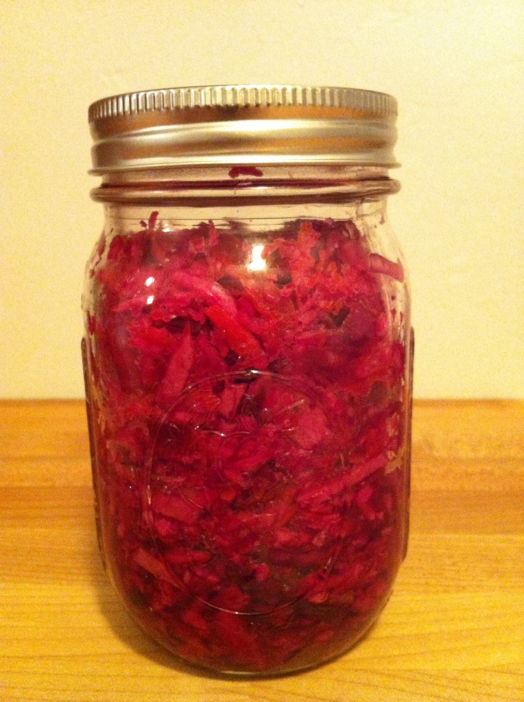Red Cabbage Fermented Slaw